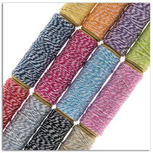 Toga 12 Ficelles Baker's Twine Bicolores