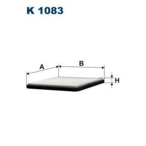 Filtron Filtre d'habitacle K1083