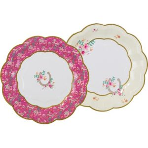 Talking Tables 12 petites assiettes en carton Poney Club (17 cm)
