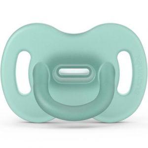 Suavinex Sucette en silicone avec tétine symétrique SX PRO Smoothie vert (0-6 mois)