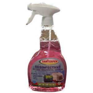 Saniterpen Désinfectant pour l'environnement des animaux (750ml)