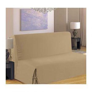 Homemaison Housse de canapé BZ 140x190 cm beige