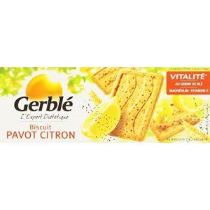 Gerblé Biscuit Pavot Citron Le Paquet 200 g