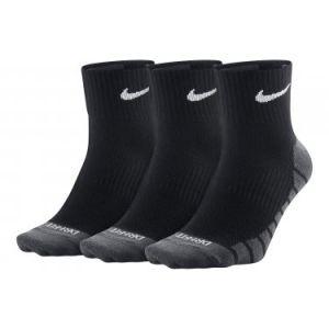 Nike Chaussettes de training Dry Lightweight Quarter (3 paires) - Noir - Taille M - Homme