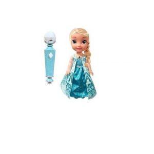 Poupée La Reine des neiges - Elsa chantante et microphone 38 cm