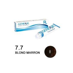 Generik n°7.7 Blond marron - Crème colorante