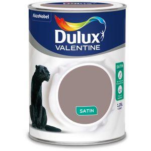Dulux Valentine Peinture Crème De Couleur Satin Brun Cachemire 1,25 L