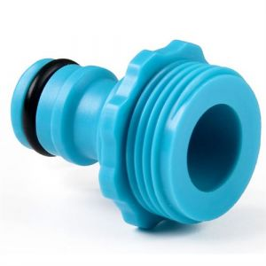 "Cellfast Connecteur robinet fileté de tuyau 3/4 ""mâle compatibile de Hozelock"