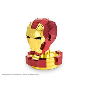 Metal Earth Avengers casque Iron Man maquette à construire 3D