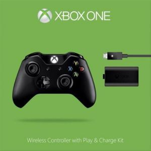 Microsoft Manette + Chargeur Microsoft manette + Play & Charge Kit Xbox One V2