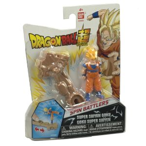 Bandai Dragon Ball Z Set d'Entrainement Mini Battle Vegeta Super Saiyan