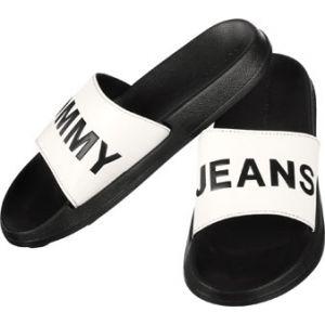 Tommy Hilfiger Tommy Jeans Slide tong noir blanc 41/42 EU