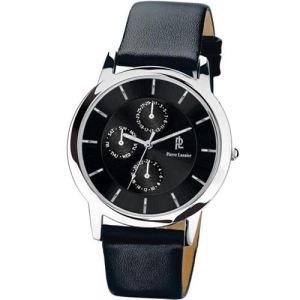 Pierre Lannier 236B1 - Montre pour homme bracelet en cuir Extra-plat