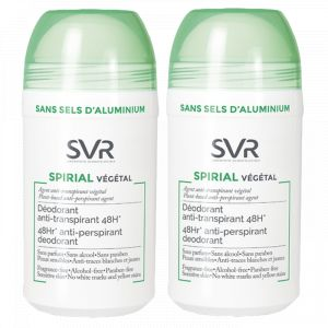 Laboratoires SVR Spirial végétal - Déodorant anti-transpirant 48h