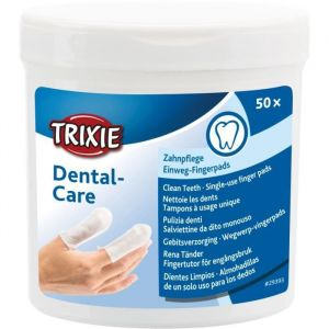 Trixie Doigtiers de soin pour les dents - 50 pcs