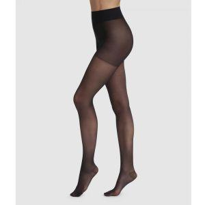 DIM Collant Perfect Contention Transparent 25D, 25 DEN, Noir (Noir 0hz), Large (Taille Fabricant:3) Femme