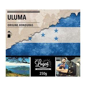 Cafés Lugat Café moulu Bio pour cafetière à piston : Honduras - Uluma - 250g