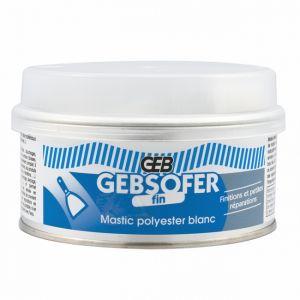 Geb Mastic sofer polyester fin 150mL - blanc - Mastic maçonnerie