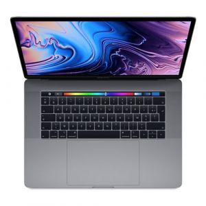 Apple MacBook Pro 15.4 Touch Bar 256 Go SSD 16 Go RAM Intel Core i9 hexacoeur à 2.9 GHz Gris sidéral Nouveau Sur-mesure