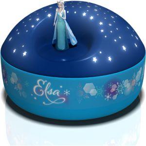 Trousselier Projecteur d'étoiles musical Elsa la Reine des Neiges