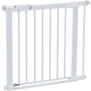 Safety 1st Barrière de sécurité enfant Flat Step métal - Blanc