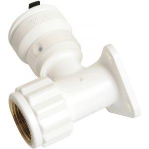 """Henco Push-fit Vision coude femelle applique 20x2,0 - 1/2"""""""" (15/21)"""