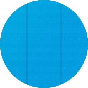 TecTake Bâche à bulles pour Piscine ronde de protection extérieure en Plastique 3,81 m Bleu