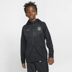 Nike Sweat à capuche et zip intégral Sportswear Air Max pour Garçon plus âgé - Noir - L - Male