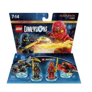Warner Lego Dimensions Kai & Cole figurine Ninjago