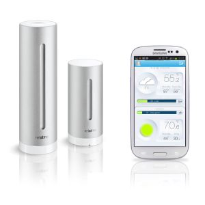 Netatmo NWSOI-EC - Station météo pour iPhone, iPad et smartphones Android