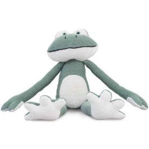 Jollein Peluche grenouille Frog (30 cm)