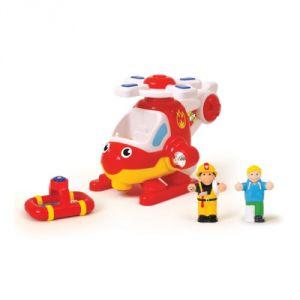 WOW Toys Hélicoptère de pompiers