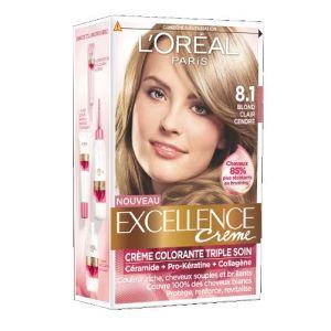 L'Oréal Excellence Crème 8.1 Blond Clair Cendré