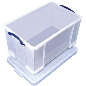 Really useful box Boite plastique rigide haute résistance 84 litres PRO -