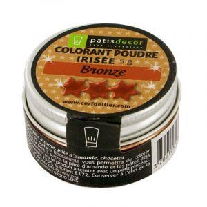 Patisdécor Colorant poudre - bronze - 5 g