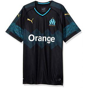Puma Olympique de Marseille Away Maillot Replica Homme, Noir