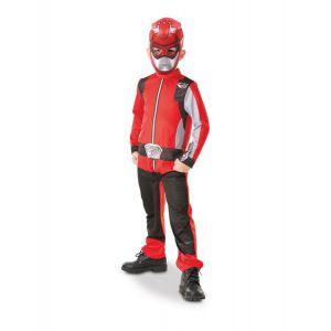 Déguisement Power Rangers™ Beast morphers™ - Rouge - Enfant