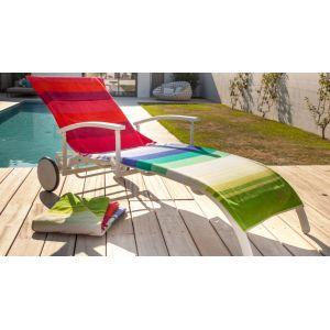 Proloisirs PRL-0354 - Housse pour bain de soleil éponge coton 540gr