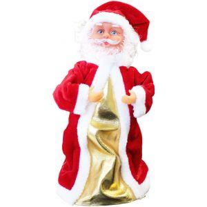 Père Noël chantant et dansant (30 cm)