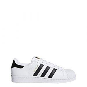 Adidas Superstar Basket Mode Homme, Blanc (Footwear White/Collegiate Navy/Collegiate Navy), 38 2/3 EU