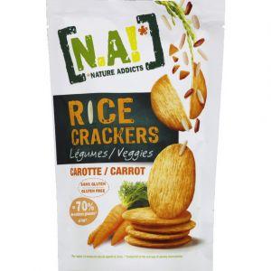 N.a! Crackers légumes carotte - Le sachet de 70g