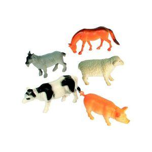 Bg Animaux de la ferme 5 à 7 cm (lot de 12)