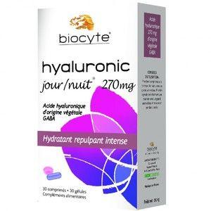 Biocyte Hyaluronic Jour & Nuit 270 mg 30 cpés + 30 gél