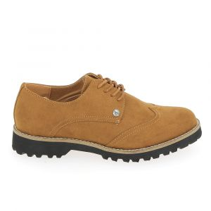 LPB Shoes Derbies GIOVANNA Marron - Taille 36,37,38,39,41