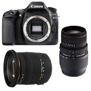 Canon EOS 80D (avec objectif Sigma 17-50mm)