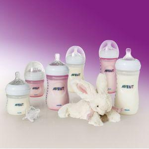 Philips Kit naissance 6 biberons Natural + doudou offert