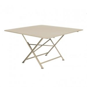Fermob Cargo - Table de jardin carrée 128 x 128 cm