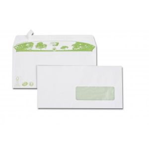 Gpv 2823 - Enveloppe Green Erapure 110x220, 80 g/m², coloris blanc - boîte de 500