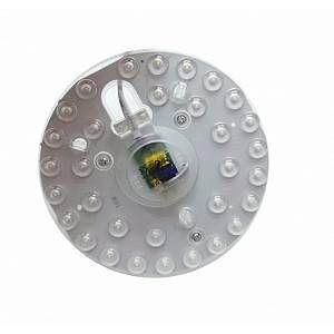 Silamp Tube LED T9 16W 220V 120 Plaque Circulaire Plafond Ø155 - couleur eclairage : Blanc Neutre 4000K - 5500K