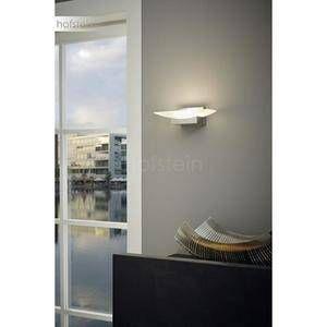 Eglo Applique murale METRASS LED Nickel mat, 1 lumière - Moderne - Intérieur - METRASS - Délai de livraison: 8 à 12 jours ouvrés. Port gratuit France métropolitaine et Belgique dès 100 %u20AC.